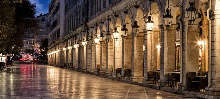 corfu-liston-night